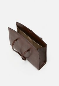 Little Liffner - MINIMAL MINI TOTE - Handbag - dark brown - 3