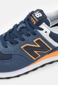 New Balance - 574 UNISEX - Sneakers - blue - 5