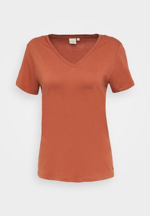 NAIA - Basic T-shirt - baked clay