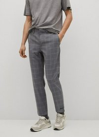 Mango - Chino kalhoty - grau - 0