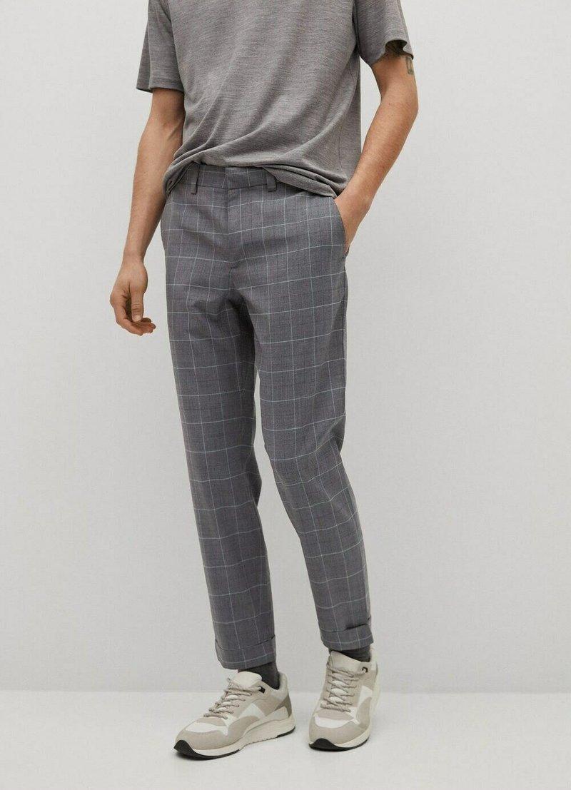 Mango - Chino kalhoty - grau