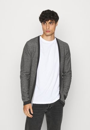 SLHNEWJEFF OPEN  - Cardigan - anthracite/egret