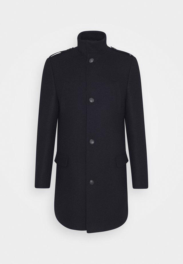 FUNNEL COAT - Classic coat - dark blue