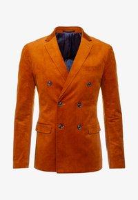 Topman - Jakkesæt blazere - caramel - 4