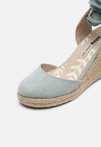 mtng - LOUISA - Platform sandals - menta/natural - 7