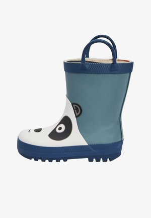 PANDA HANDLE - Wellies - blue