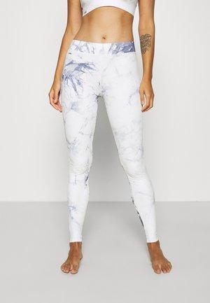 TIE DYE LOUNGE - Pyjama bottoms - blue