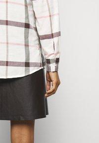 Barbour - WINTER OXER - Button-down blouse - cloud - 5