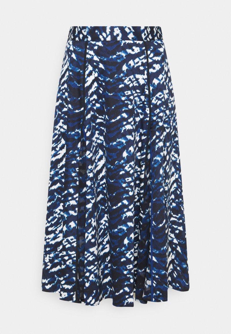 Diane von Furstenberg - RUBY SKIRT - Pleated skirt - blue