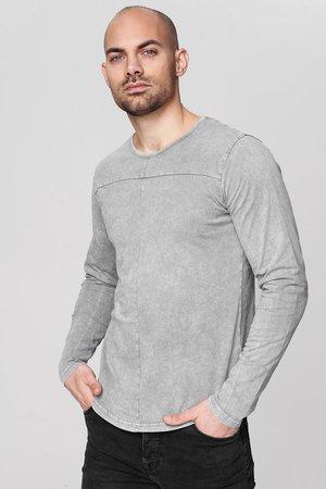 RONIN - Long sleeved top - dark grey