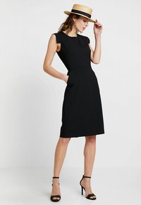 J.CREW TALL - RESUME DRESS BISTRETCH - Etuikleid - black - 2
