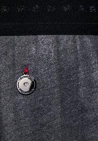 Street One - MIT GLITZER COATING - A-line skirt - grau - 4