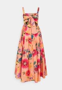 Farm Rio - FLORAL SEA MIDI DRESS - Day dress - multi coloured - 8