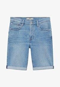 Mango - Denim shorts - azul medio - 6