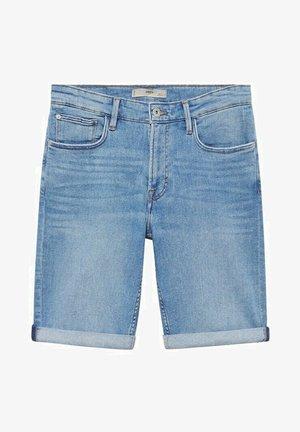 Denim shorts - azul medio