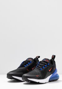 Nike Sportswear - AIR MAX 270 ESS - Trainers - black/chile red/hyper royal/white - 2
