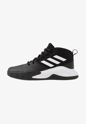 OWNTHEGAME WIDE - Sports shoes - core black/footwear white