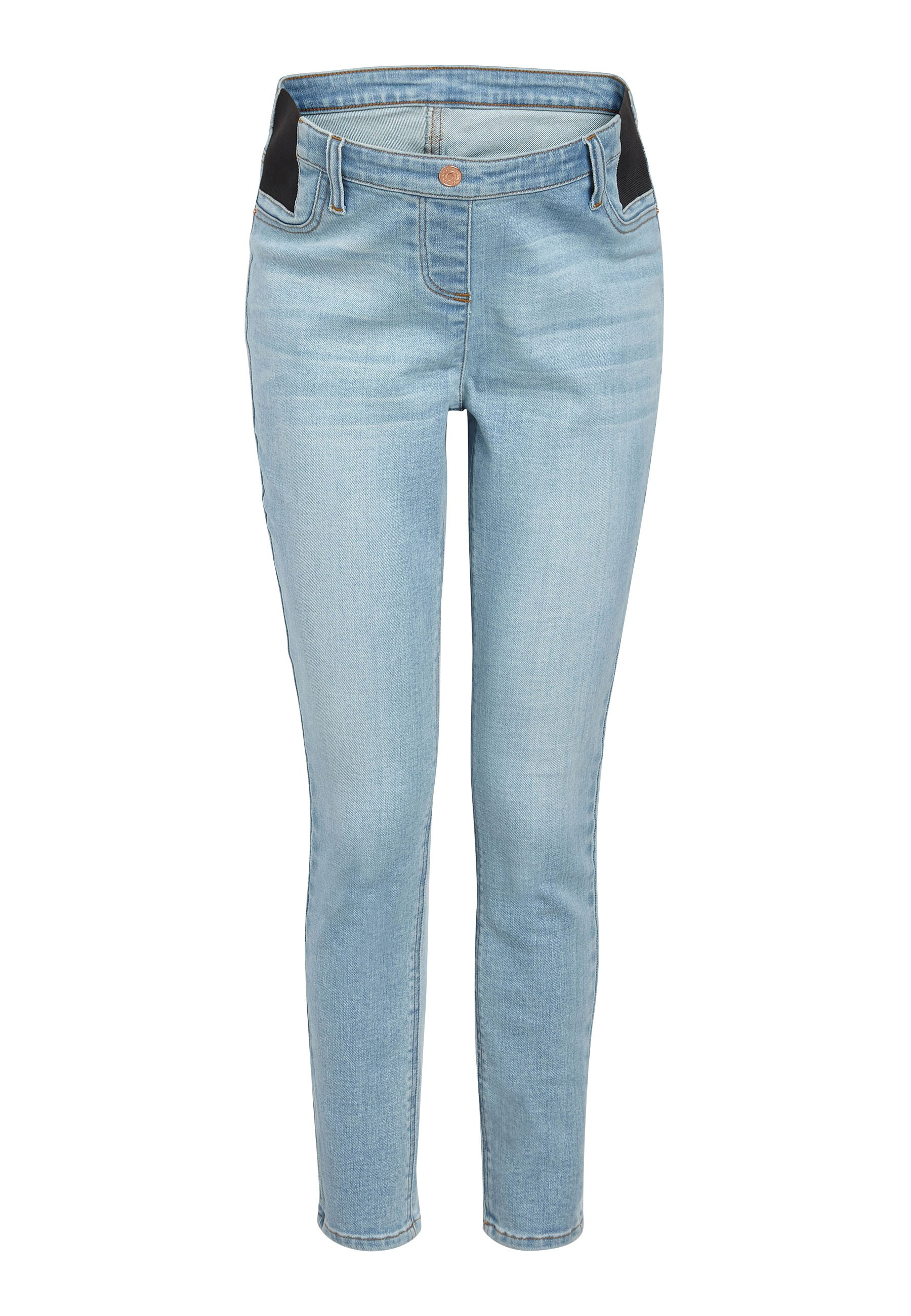 Damen DENIM GREY MATERNITY SUPER SOFT - Jeans Skinny Fit