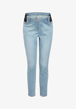 DENIM GREY MATERNITY SUPER SOFT - Jeans Skinny Fit - off-white