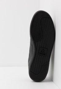 le coq sportif - COURTSET - Zapatillas - triple black - 4