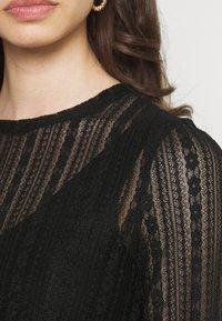 Vila - VIANAMIA - Long sleeved top - black - 5