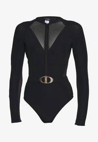 JETS BY JESSIKA ALLEN - SURF SUIT - Swimsuit - black - 4