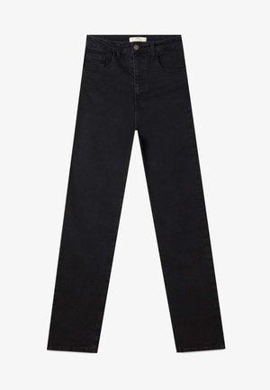 IM VINTAGELOOK  - Slim fit -farkut - black