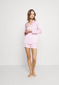 Missguided - STRIPE SET - Pyjamaser - pink - 1