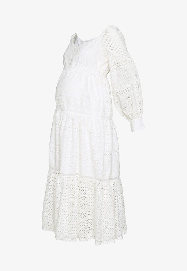 DRESS - Vapaa-ajan mekko - off white