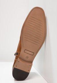 Pier One - Lace-up ankle boots - cognac - 4