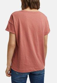Esprit - Basic T-shirt - blush - 4