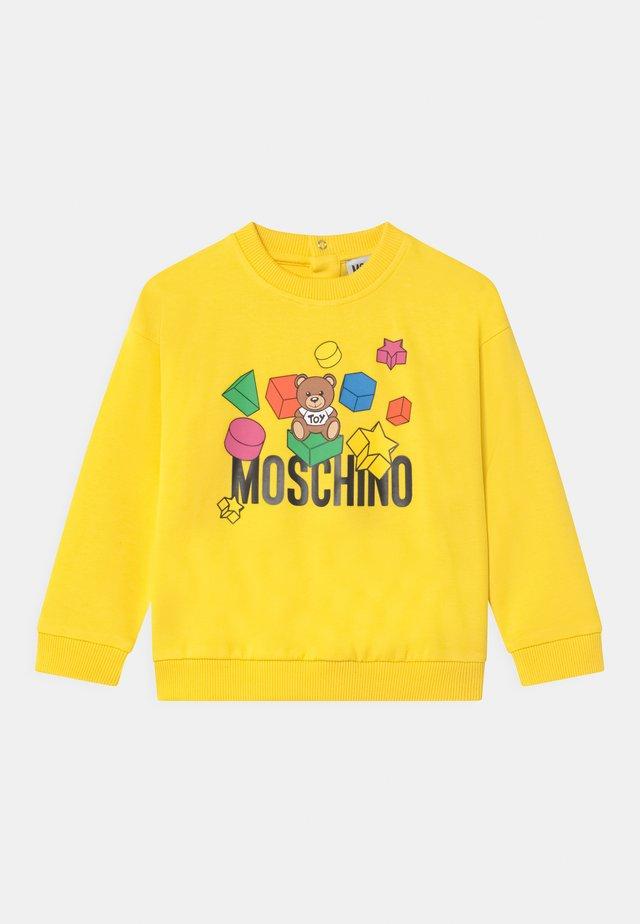 UNISEX - Sweatshirt - cyber yellow