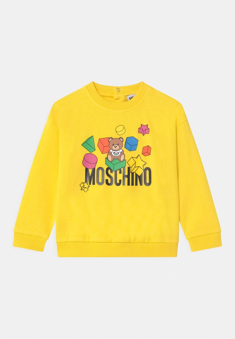 MOSCHINO - UNISEX - Sweatshirts - cyber yellow