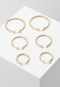 Pieces - PCSELINDA EARRINGS 3 PACK - Náušnice - gold-coloured