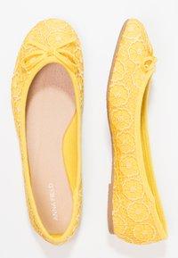 Anna Field - Ballet pumps - yellow - 2