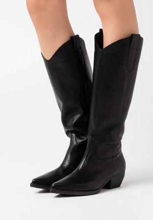 SOFY - Cowboy/Biker boots - nero