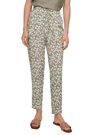 Pantalon classique - summer khaki aop