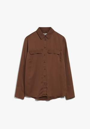 TAIMEAA - Button-down blouse - cacao