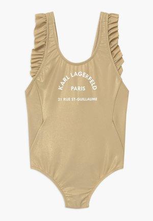 Swimsuit - light gold