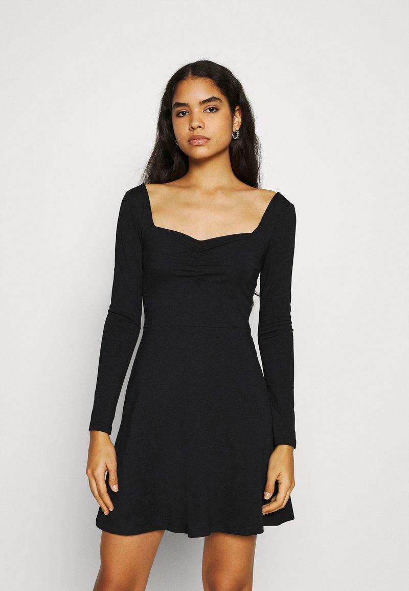Even&Odd - Jersey dress - black