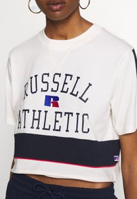 Russell Athletic Eagle R - LAUREN - T-shirt con stampa - soya - 5