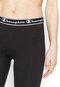 Champion - LEGGINGS - Punčochy - black - 3