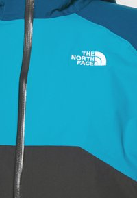 The North Face - MENS STRATOS JACKET - Hardshell jacket - anthracite/teal/blue - 5