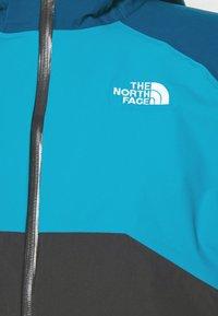 The North Face - MENS STRATOS JACKET - Hardshellová bunda - anthracite/teal/blue - 5