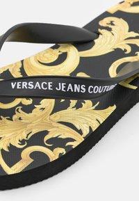 Versace Jeans Couture - T-bar sandals - black - 6