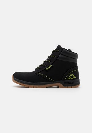 CAMMY UNISEX - Hikingsko - black/lime