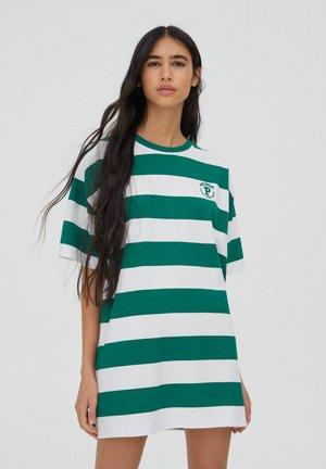 DRESS - Shirt dress - green
