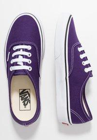 Vans - AUTHENTIC - Trainers - violet indigo/true white - 1