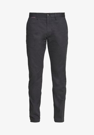 DENTON MINI PRINT - Chinos - grey