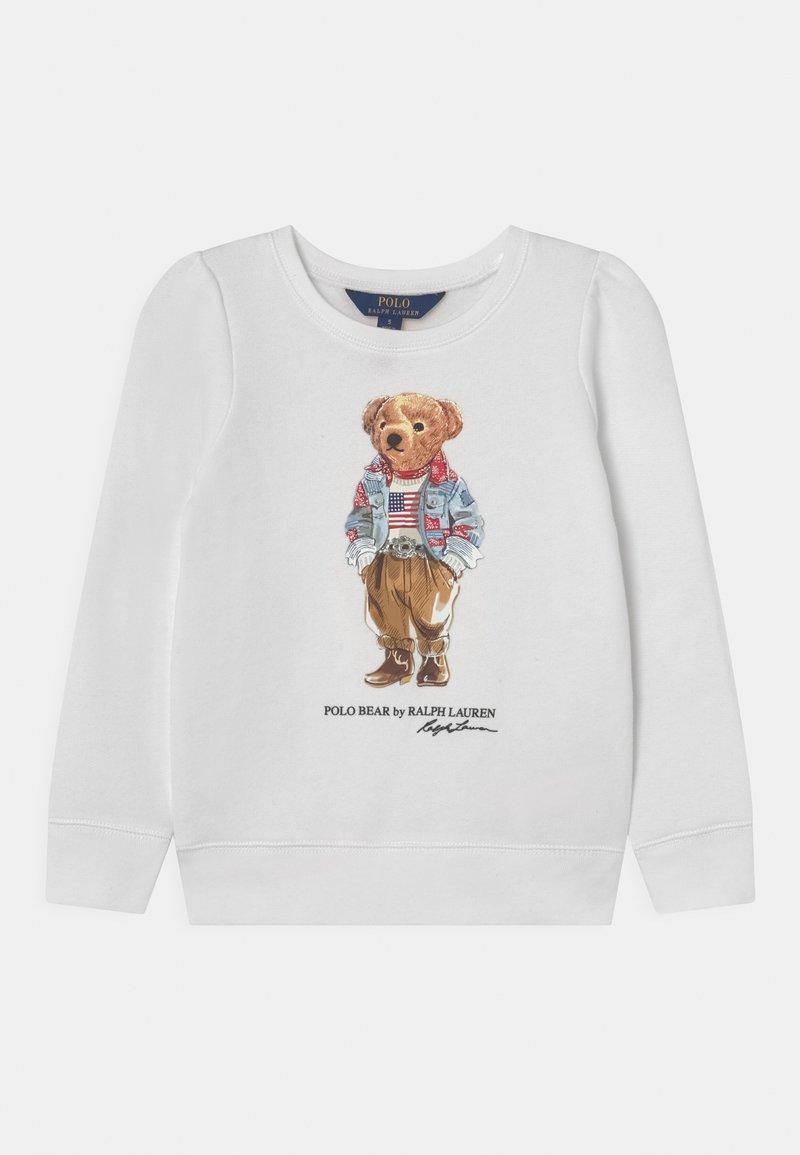 Polo Ralph Lauren - BEAR  - Sweatshirt - white